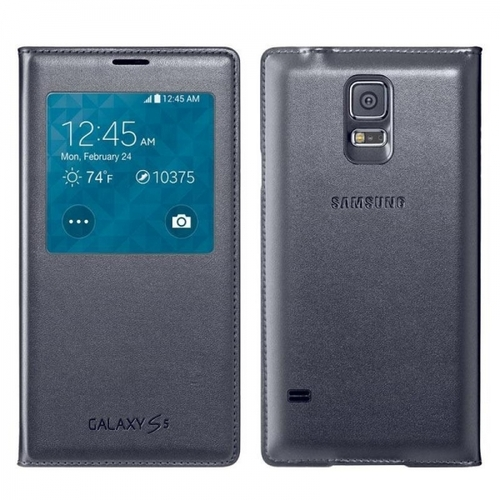Flip Cover Galaxy S5 Black